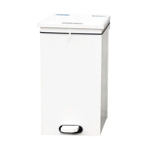 White Soft Close Bin