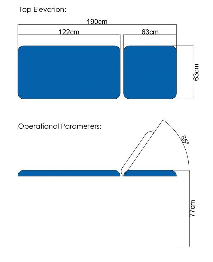 Practice Plinth PP02 Dimensions