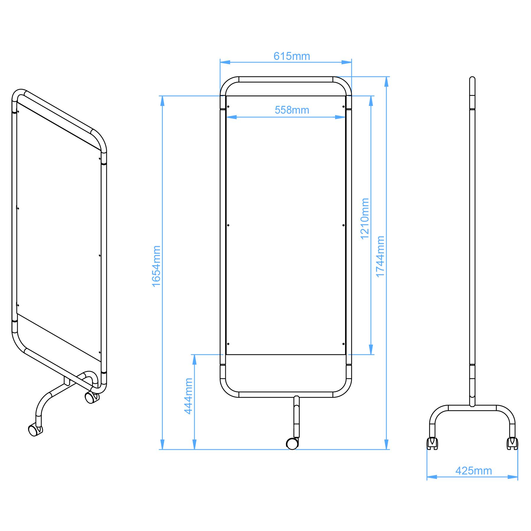 Ward Screen Dimensions